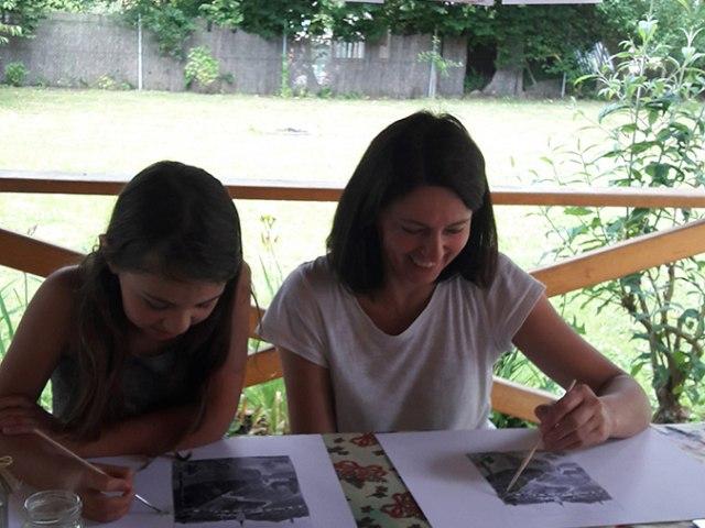 Malování na zahradě 15. až 16. 7. 2017 3