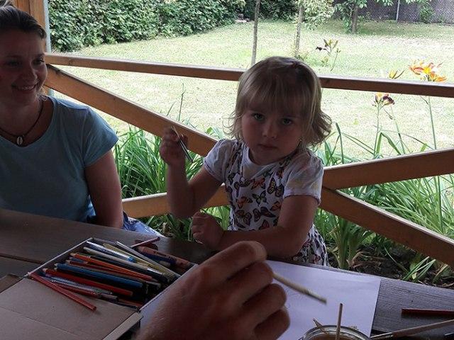 Malování na zahradě 15. až 16. 7. 2017 4